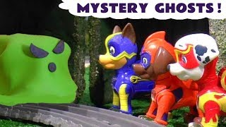 Paw Patrol Mighty Pups Full Episode English Challenge Game Opening Stop Motion Play Doh
