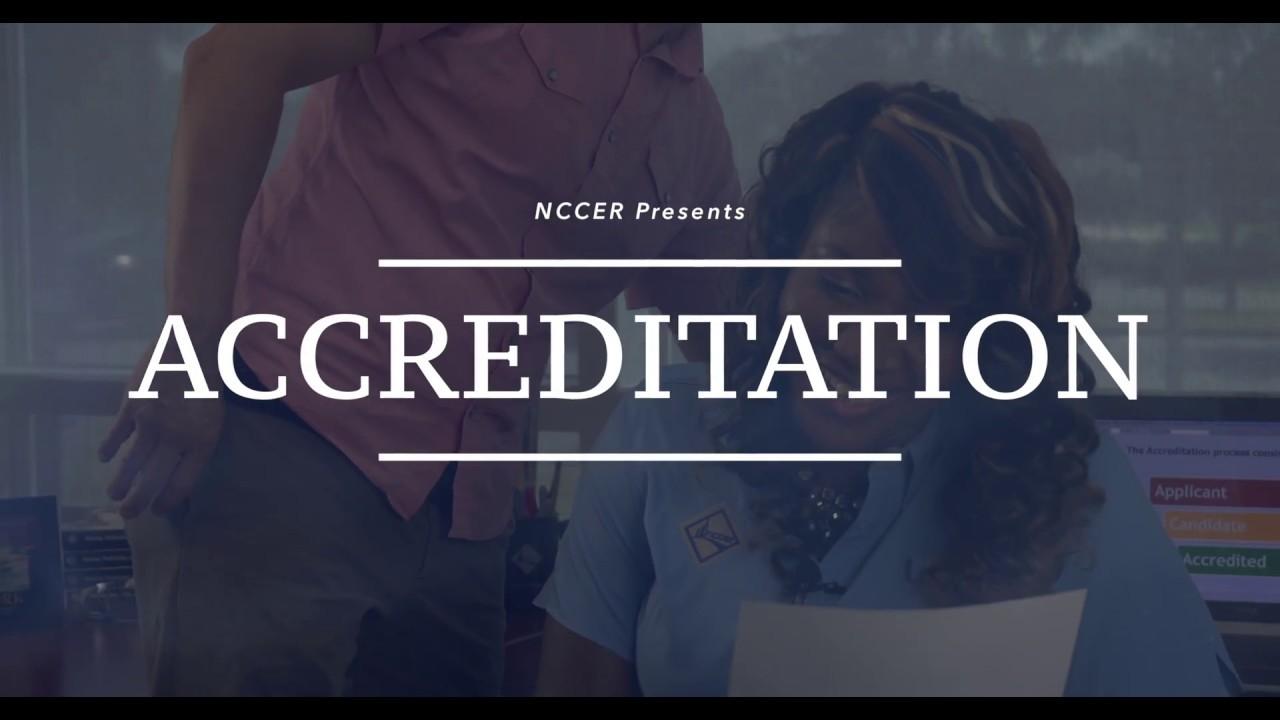 NCCER Accreditation