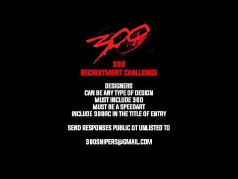 300 Recruitment Challenge! [Designers]