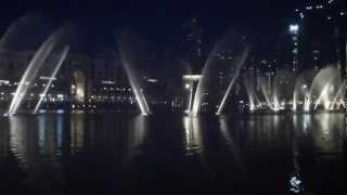 Dubai Fountains Jacky Cheung - Wen Bie (Kiss goodbye) full HD