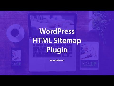 WordPress HTML Sitemap Plugin