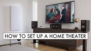 HOW TO Set Up a 5.1 HOME THEATER Surround Sound Speaker System in 2020