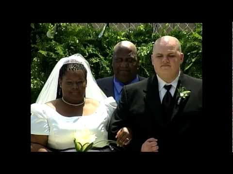 Walter Brown - Would you get married at a Walmart? This couple did.