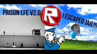 i escaped prison | roblox