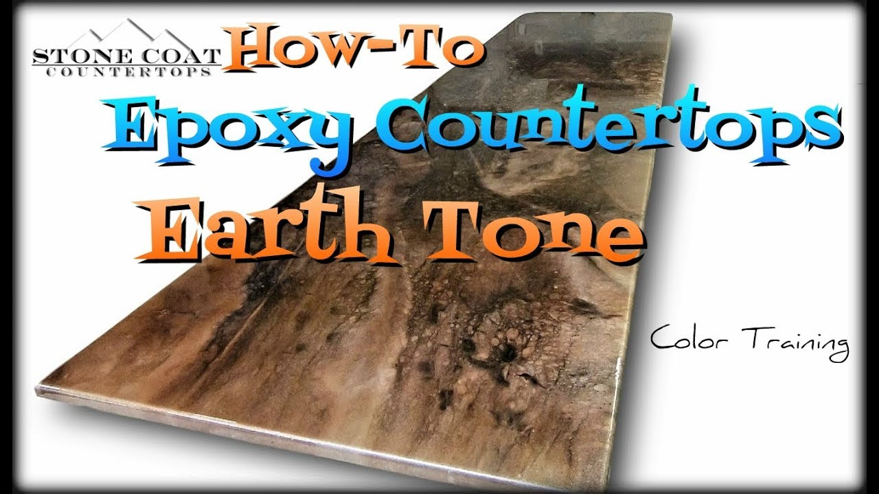 Download Earth Tone Epoxy Countertops, How-To