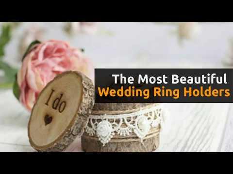 25 Beautiful Wedding Ring Holders