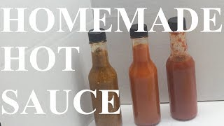 How to Make Hot Sauce from Homegrown Peppers