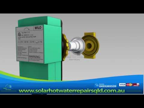 Wilo za 15 a Solar hot water circulating pump