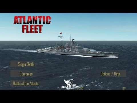 Atlantic Fleet Gameplay Campaign Part 1 - iOS