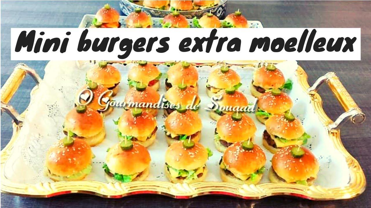 Mini burgers fait maison trop bon - YouTube