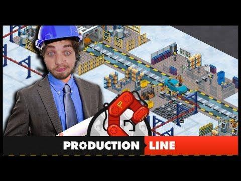 FIZERAM UM JOGO IGUAL MEU TRABALHO!!! - PRODUCTION LINE