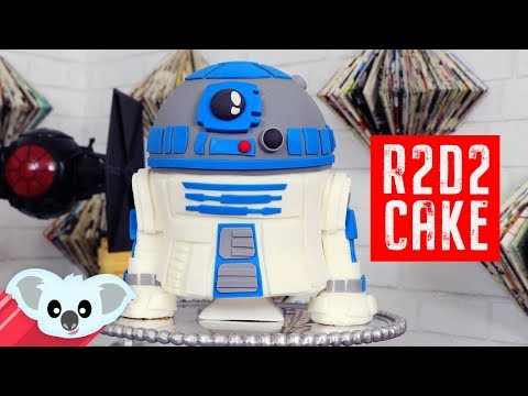Star Wars R2D2 Cake | The Last Jedi | DIY & How To