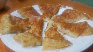 Bánh khoai tây(mài) chiên ngon như khoai mì nướng||Simple potato pancake-감자전||NGHI NGUYEN CHANNEL