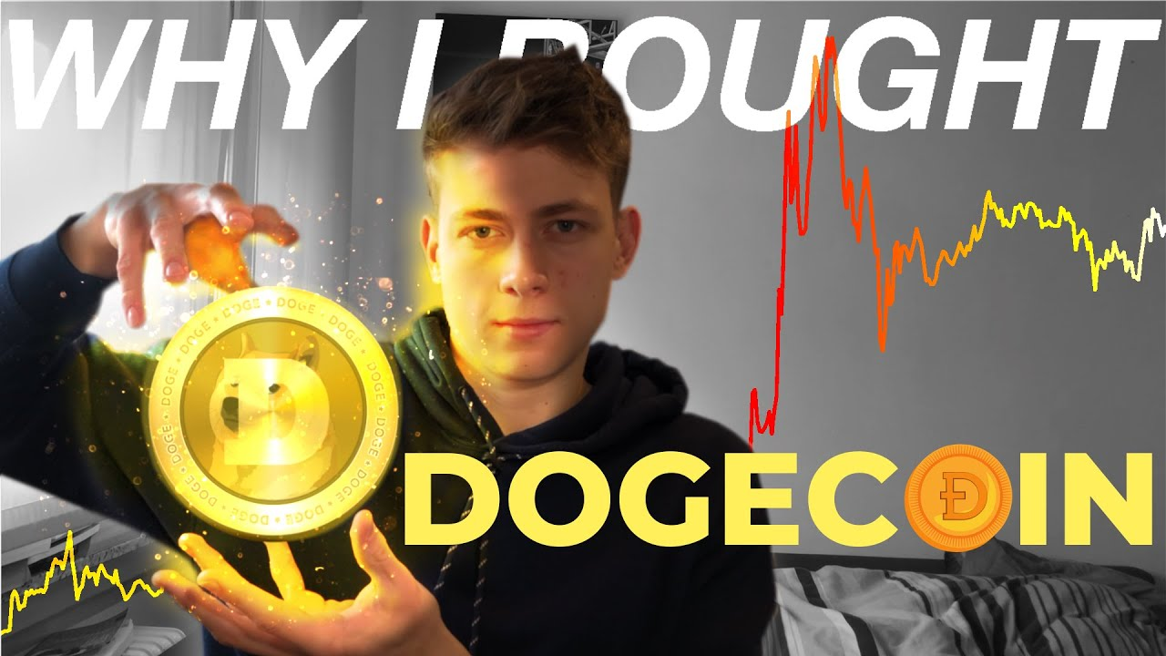 Why I bought DOGECOIN instead of BITCOIN┃Dogecoin Price Prediction┃Holding Doge
