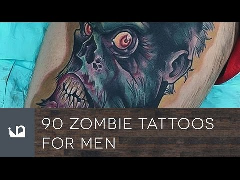 90 Zombie Tattoos For Men