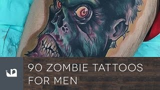 Video 90 Zombie Tattoos For Men download MP3, 3GP, MP4, WEBM, AVI, FLV Agustus 2018