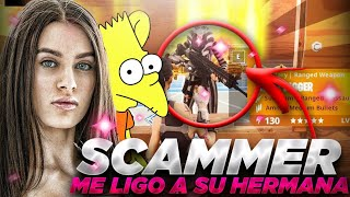 🔥ME LIGO a la HERMANA de un SCAMMER y NO CREERÁS LO QUE PASÓ🔥 | SCAMEANDO SCAMMERS #114