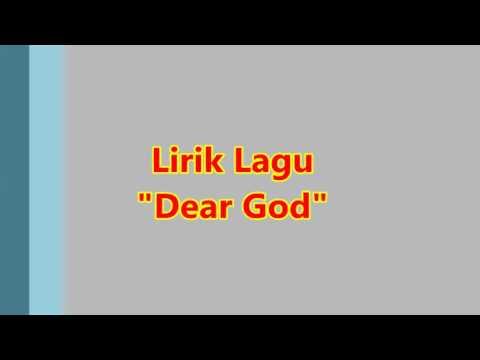 "Lirik lagu ""Dear Goď"""