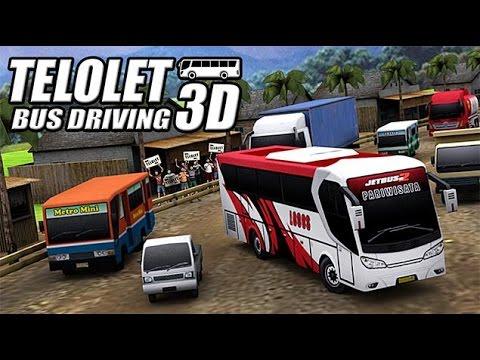 Telolet Bus Driving 3D Gameplay