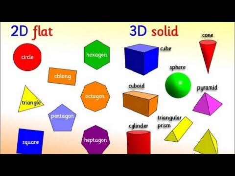 hqdefault - Kindergarten 3 D Shapes