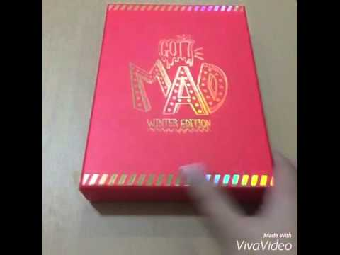 UNBOXING GOT7 MAD (winter edition) ALBUM