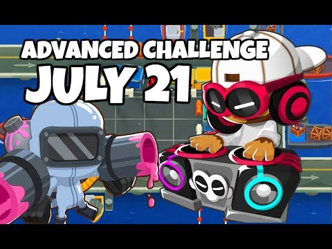 BTD6 Advanced Challenge - Stoked Piled - July 21 2019