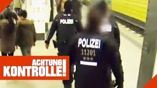 Schreie in der U-Bahn! Polizei sucht nach Tätern! | Achtung Kontrolle | kabel eins