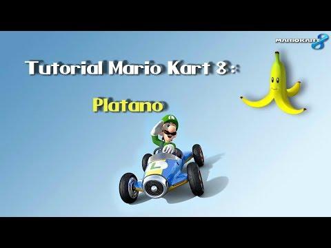 Mario Kart 8 - Tutorial de objeto: Plátano