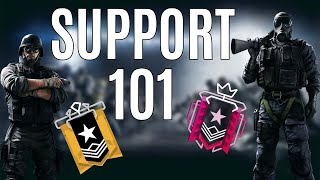 HOW TO PLAY SUPPORT 101 | RAINBOW SIX SIEGE FT. BRACTION | DISRUPT GAMING