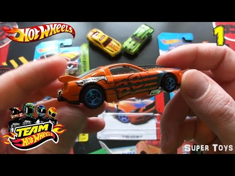 Hot Wheels Cars/Машинки Хот Вилс: распаковка и обзор коллекции (Часть 1)