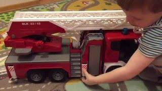 Видео обзоры Bruder Пожарная машина