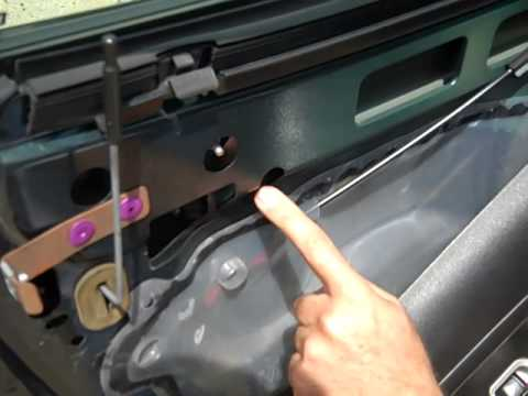Pontiac Solstice Saturn Sky Door Handle Replacement