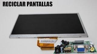 COMO RECICLAR PANTALLA DE TABLET ESTROPEADA