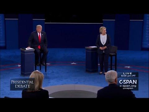 Second Presidential Debate - October 9 2016