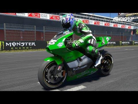Motogp 19 Kawasaki Zx Rr 2005 Test Ride Gameplay Pc Hd 1080p60fps Youtube