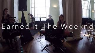 Earned it - cover by Etude Trio