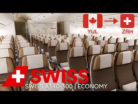 TRIP REPORT | SWISS A340-300 | Montréal (YUL) to Zurich (ZRH) | Economy