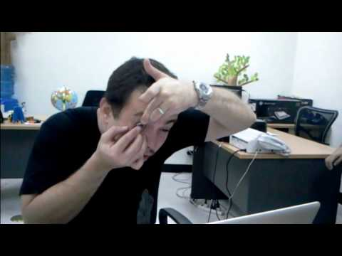 THE PRODUCTS BLOG VIDEO REVIEW: Sarabia Optical Contact Lens