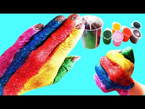 Here i am -  Family Finger Song Hand Body Paint For Kids