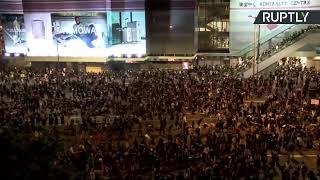 Массовые протесты в Гонконге — LIVE