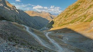 Грузия.Перевал Абано - самый опасный перевал европы