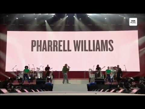 Pharrell Williams  - Get Lucky (One Love Manchester)
