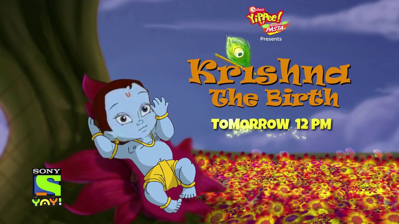Krishna Balram Brand New Movie | Krishna The Birth | Tomorrow 12 pm