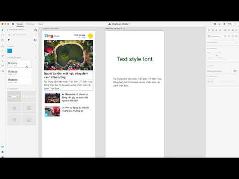 Adobe Xd don't apply Charater Style Font