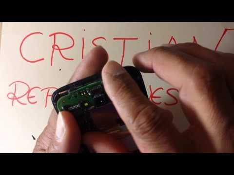 como cambiar pantalla táctil y lcd alcatel one touch pop c7