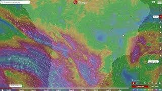 Alta pressão seca parte do BR