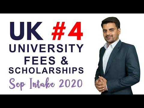 UK #4 UNIVERSITY | FEES, SCHOLARSHIPS | STUDY IN UK | INTERNATIONAL STUDENT VISA | STUDY ABROAD 2020