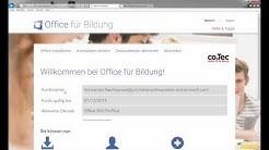 Validierungskey einlösen auf officefuerbildung.de