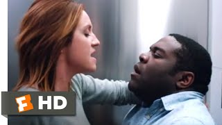 Hooking Up (2020) - Fun in the Airport Bathroom Scene (3/10) | Movieclips