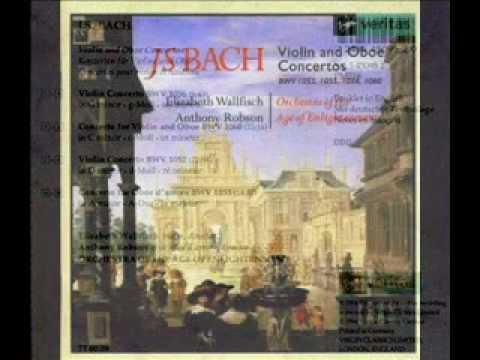 J.S. Bach ~ Violin concerto G minor - BVW1056